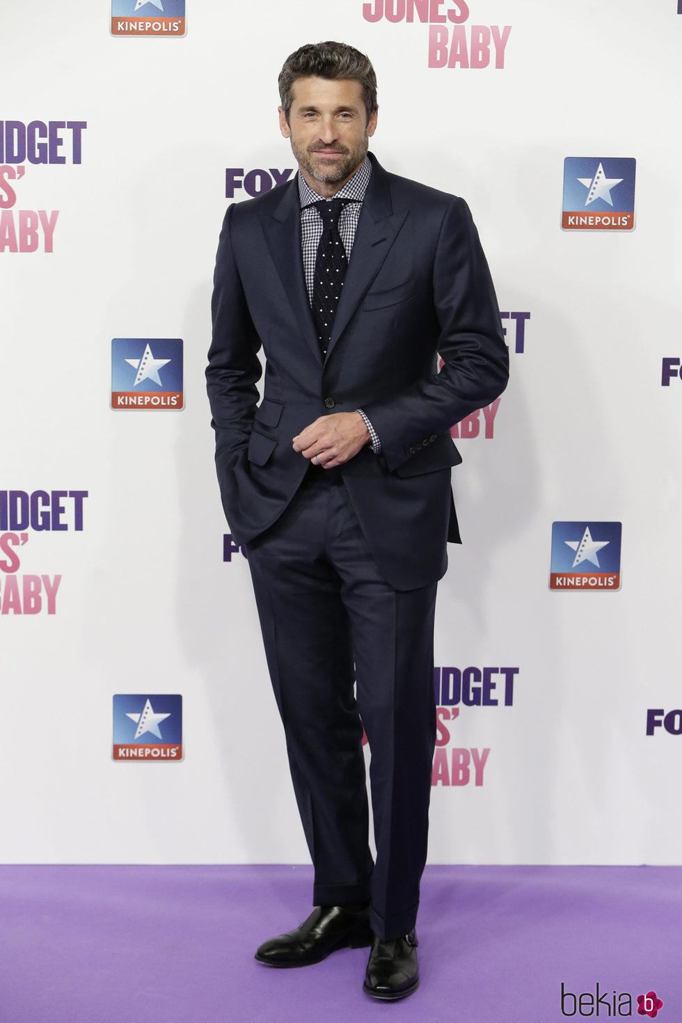 Patrick Dempsey en el estreno de 'Bridget Jones' baby' en Madrid