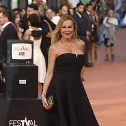 Ana Obregón en la clausura del FesTVal de Vitoria 2016