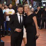 Pablo Heras-Casado y Anne Igartiburu en la clausura del FesTVal de Vitoria 2016