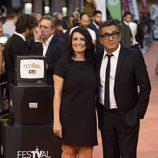 Andreu Buenafuente y Silvia Abril en la clausura del FesTVal de Vitoria 2016