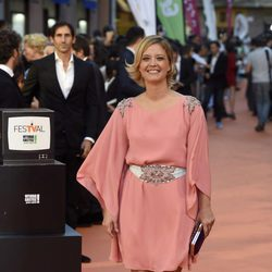María Casado en la clausura del FesTVal de Vitoria 2016