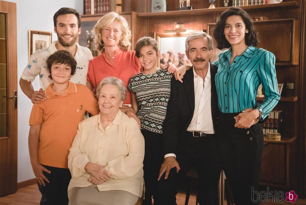 Reparto de 'Cuéntame cómo pasó' en el 15 aniversario de la serie
