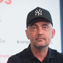 David Delfín reaparece tras ser operado de cáncer