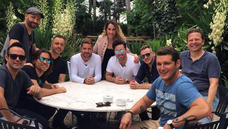 Mireia y otros de los miembros de 'OT 1'