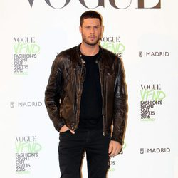 José Lamuño en el photocall de Vogue's Fashion Night Out 2016