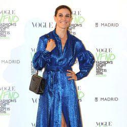 Raquel Sánchez Silva en el photocall de Vogue's Fashion Night Out 2016
