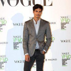 Javier de Miguel en el photocall de Vogue's Fashion Night Out 2016