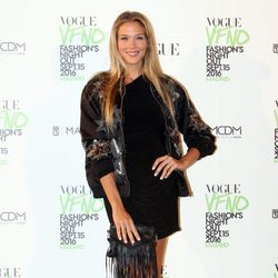 Patricia Montero en el photocall de Vogue's Fashion Night Out 2016