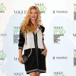 María Esteve en el photocall de Vogue's Fashion Night Out 2016