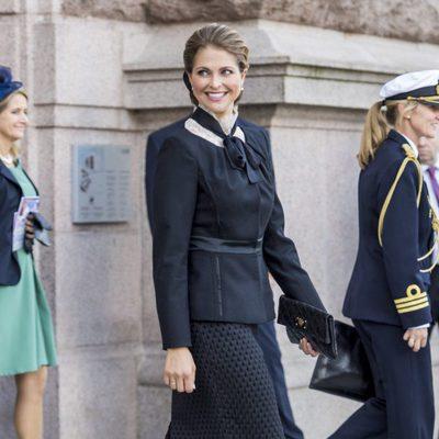 Magdalena de Suecia en la apertura del Parlamento 2016