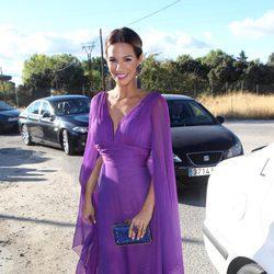 Tamara Gorro en la boda de Kiko Matamoros y Makoke