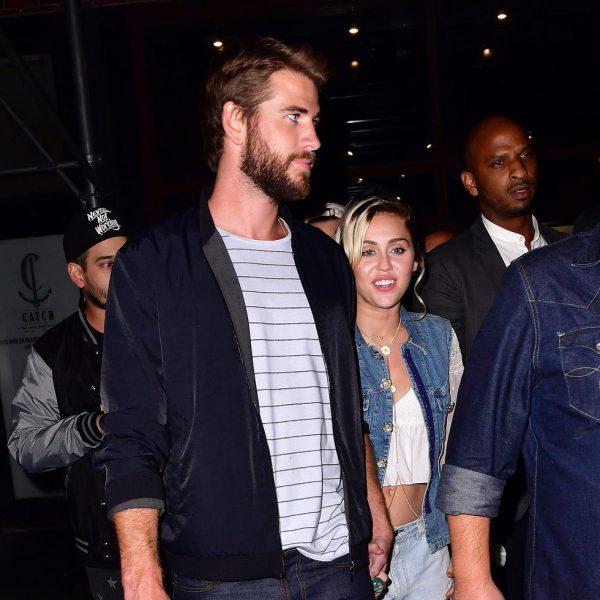Miley Cyrus y Liam Hemsworth, una historia de amor en imágenes