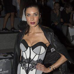 Pilar Rubio durante el front row de Maya Hansen y  Maria Escote en la Madrid Fashion Week
