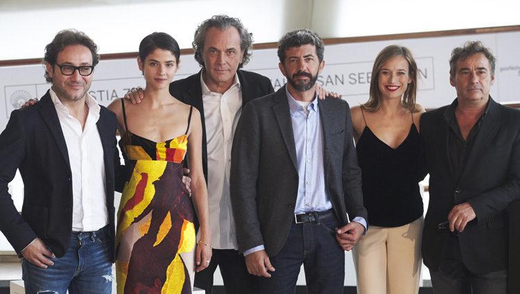 El equipo de 'El Hombre De las Mil Caras' presenta la película en el Festival de San Sebastián 2016