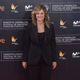 Emma Suárez en la alfombra roja de la gala inaugural del Festival de Cine de San Sebastián 2016