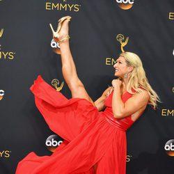 Jessie Graff en la alfombra roja de los Premios Emmy 2016