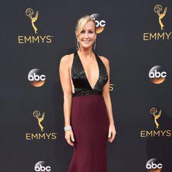 Lara Spencer en la alfombra roja de los Premios Emmy 2016
