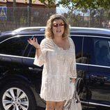 Terelu Campos en la fiesta de su 51 cumpleaños