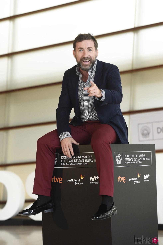 Antonio de la Torre en la presentación de 'Que Dios nos perdone' en el Festival de Cine de San Sebastián 2016.