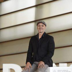 Roberto Álamo en la presentación de 'Que Dios nos perdone' en el Festival de Cine de San Sebastián 2016.