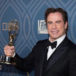 John Travolta en la fiesta tras los Premios Emmy 2016