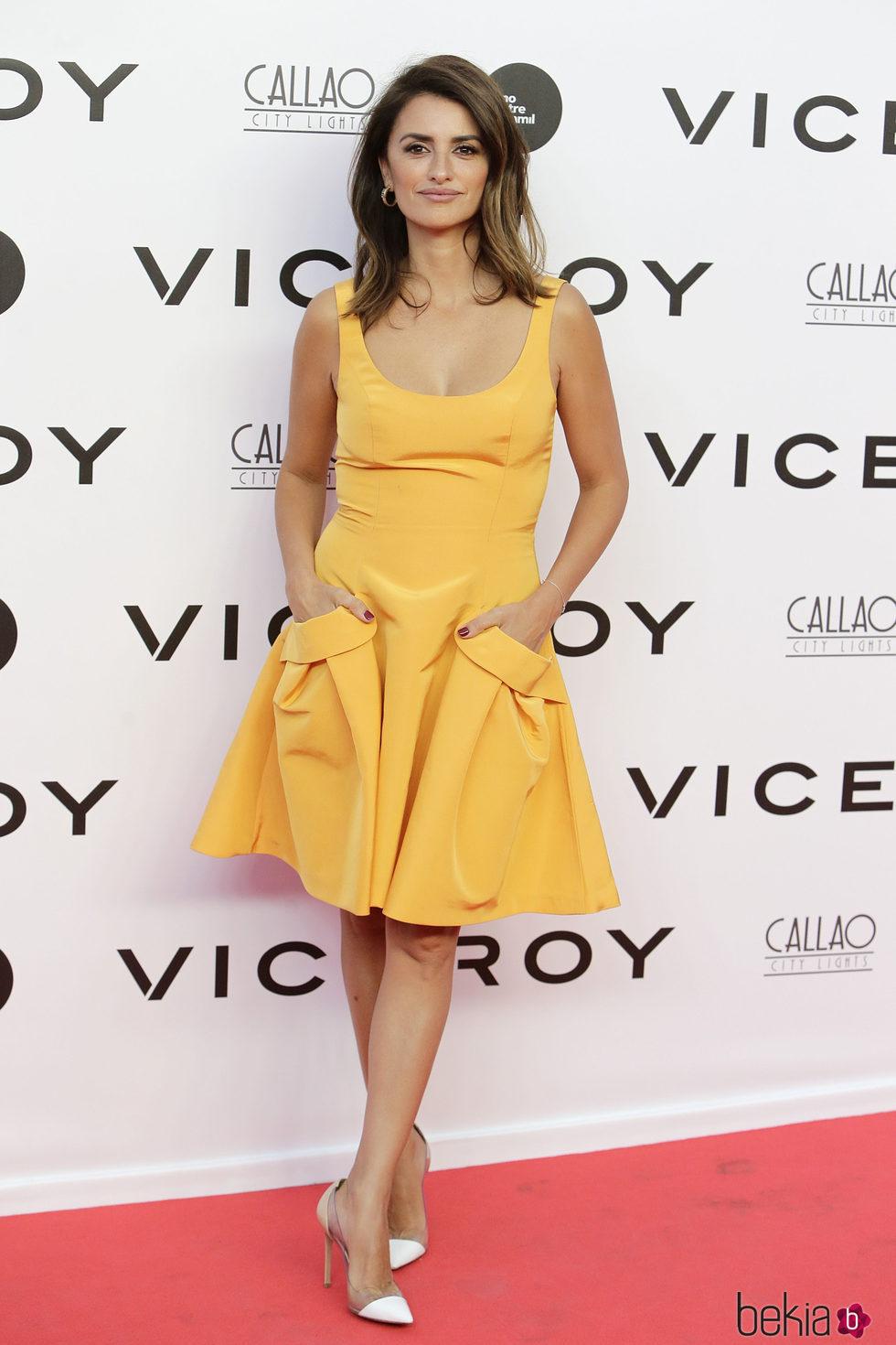 Penélope Cruz en el estreno del documental 'Soy uno entre cien mil'