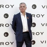 Juan Ramón Lucas en el estreno del documental 'Soy uno entre cien mil'