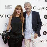 Carlos Sobera y Patricia Santamarina en el estreno del documental 'Soy uno entre cien mil'