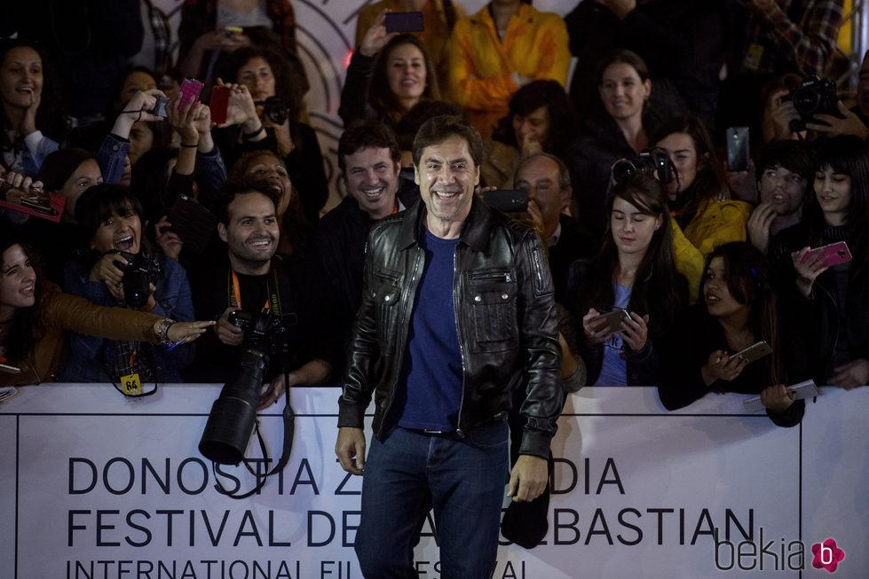 Javier Bardem en el Festival de Cine de San Sebastián 2016 para presentar 'Bigas X Bigas'