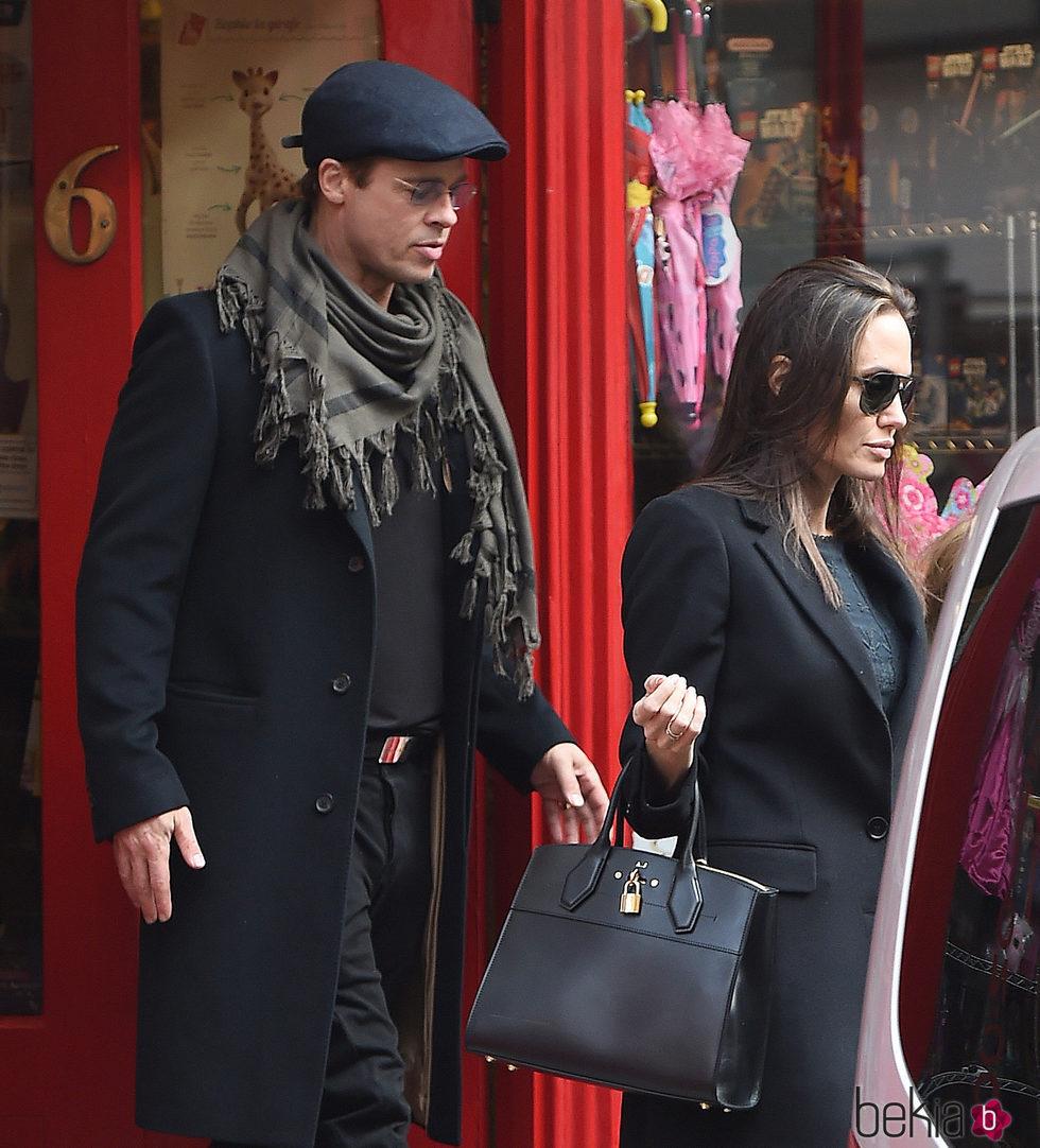 Brad Pitt y Angelina Jolie en Londres