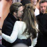 Angelina Jolie y Brad Pitt en la premiere de la película 'The Tourist'