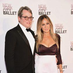 Sarah Jessica Parker y Matthew Broderick en la Gala de Otoño 2016 del Ballet de Nueva York