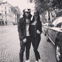 Jesé Rodríguez y Aurah Ruiz en París