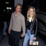 Brad Pitt y Gwyneth Paltrow cuando eran jóvenes