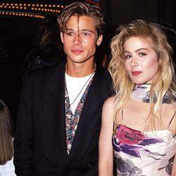 Brad Pitt y Christina Applegate en 1989