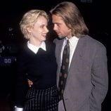 Brad Pitt y Juliette Lewis en los 90