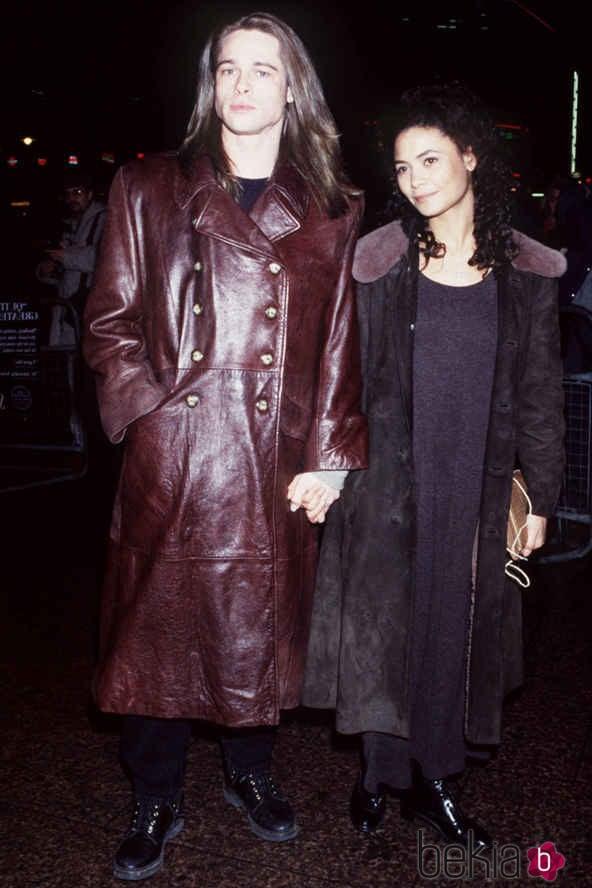 Brad Pitt y Thandie Newton