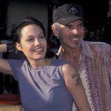 Angelina Jolie y Billy Bob Thornton en una Premiere