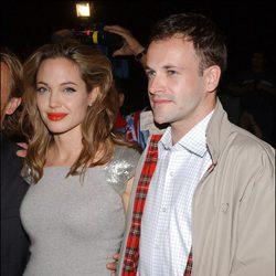 Angelina Jolie y Jonny Lee Miller