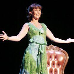 Marta Luisa de Noruega actuando en el teatro