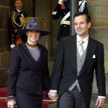 Marta Luisa y Ari Behn meses antes de casarse en 2002