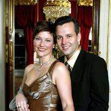 Marta Luisa de Noruega y Ari Behn, sonrientes y enamorados