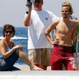 Marta Luisa de Noruega con Ari Behn con el torso desnudo en Mallorca