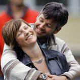 Marta Luisa de Noruega y Ari Behn, abrazados y enamorados
