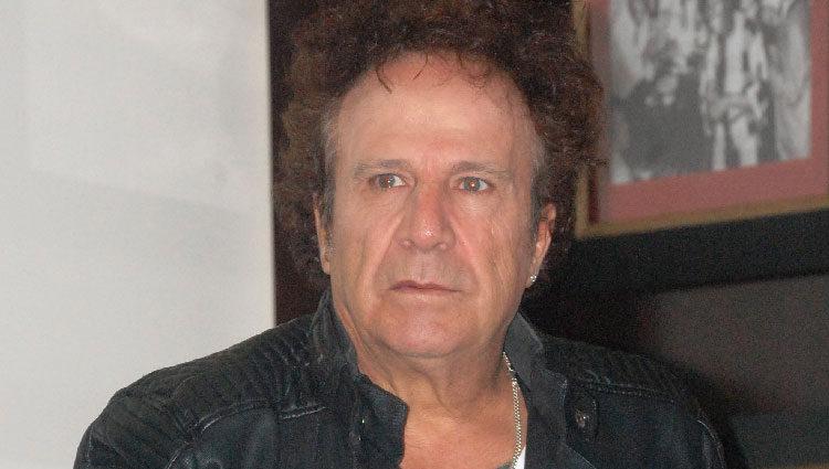 Fortu en la presentación de su disco 'Siente el Rock and Roll'