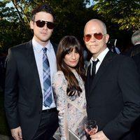 Ryan Murphy, Lea Michele y Cory Monteith