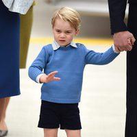 El Príncipe Jorge visita por primera vez Canadá