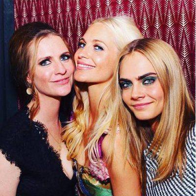 Cara, Chloe y Poppy Delevingne de fiesta