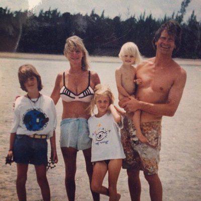 La familia Delevingne al completo de vacaciones
