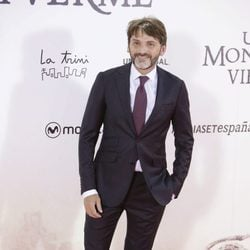 Fernando Tejero en el estreno de 'Un monstruo viene a verme'